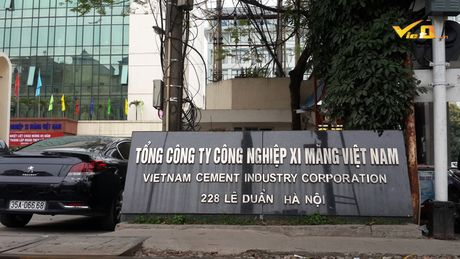 Lanh dao Tong Cong ty Xi mang Viet Nam coi thuong bao chi? - Anh 1