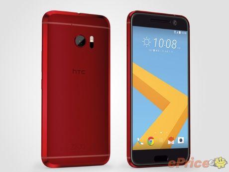 HTC 10 se co phien ban mau do - Anh 2