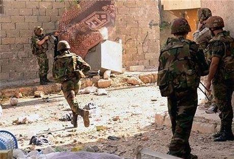 Quan doi Syria cat duong tiep van cua Al-Nusra o thanh pho Aleppo - Anh 1