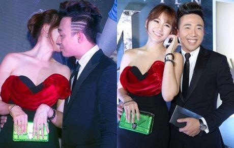 Tran Thanh cham soc chu dao cho 'nguoi tinh hon tuoi' Hari Won - Anh 1