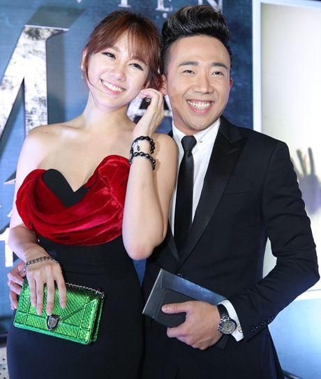 Tran Thanh cham soc chu dao cho 'nguoi tinh hon tuoi' Hari Won - Anh 3