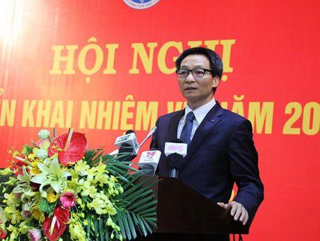 Pho Thu tuong Vu Duc Dam duoc phan cong theo doi mang ICT - Anh 1
