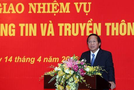 Bo truong Truong Minh Tuan: Quyet tam dua Viet Nam thanh nuoc manh ve CNTT-TT - Anh 2