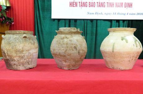 Bao tang tinh Nam Dinh duoc tang 62 co vat - Anh 2