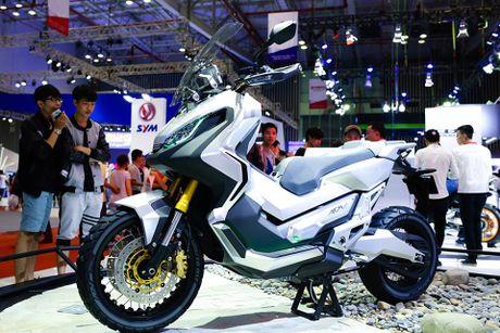 Honda Winner 150 hut khach tai trien lam xe may Viet Nam - Anh 11
