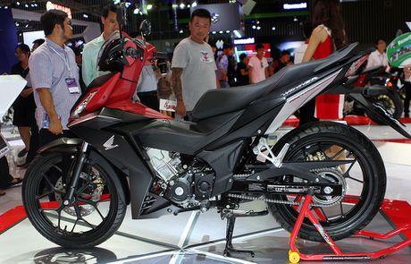 Honda Winner 150 hut khach tai trien lam xe may Viet Nam - Anh 1