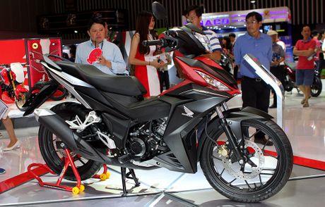 Honda Winner 150 hut khach tai trien lam xe may Viet Nam - Anh 2