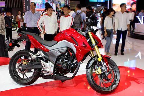 Honda Winner 150 hut khach tai trien lam xe may Viet Nam - Anh 5