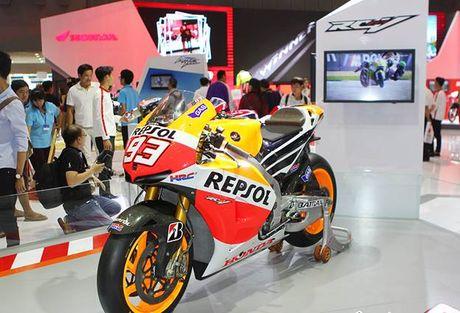 Honda Winner 150 hut khach tai trien lam xe may Viet Nam - Anh 6