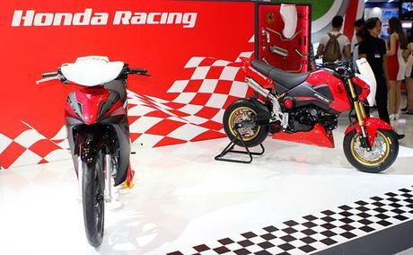 Honda Winner 150 hut khach tai trien lam xe may Viet Nam - Anh 7