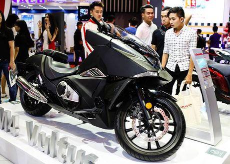 Honda Winner 150 hut khach tai trien lam xe may Viet Nam - Anh 9