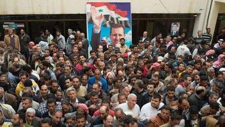 Bau cu Quoc hoi Syria: 'Canh bac' cuoi cua Tong thong Assad? - Anh 1