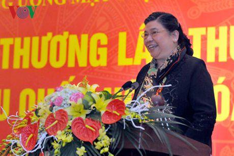 """Ba Tong Thi Phong: """"Chung ta tran trong nguoi tu ung cu DBQH"""" - Anh 1"""