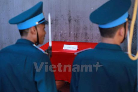 Nguoi than ngong cho linh cuu cua dai ta Tran Quang Khai ve que - Anh 3