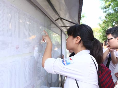 Ha Noi cong bo diem thi vao lop 10 trung hoc pho thong - Anh 1
