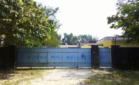 Lam ro tinh hinh o nhiem tai Nha may thuoc tru sau Phu Bai - Anh 2