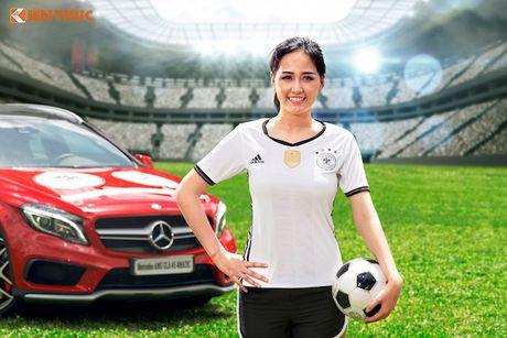 Hoa hau Mai Phuong Thuy cung Mercedes co vu tuyen Duc - Anh 3