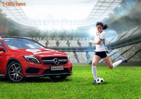 Hoa hau Mai Phuong Thuy cung Mercedes co vu tuyen Duc - Anh 5