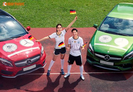 Hoa hau Mai Phuong Thuy cung Mercedes co vu tuyen Duc - Anh 6