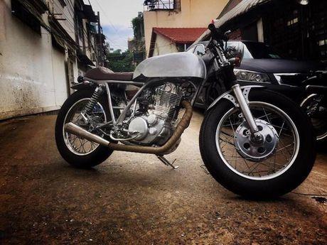 Ban do Yamaha SR400 cafe racer 'cuc chat' tai Sai Gon - Anh 7