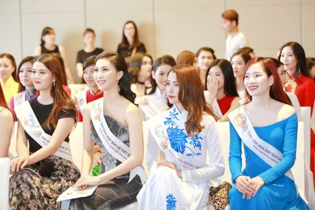 Hoa hau Ban sac Viet toan cau: Thi sinh phia Nam khoe nhan sac ruc ro - Anh 8