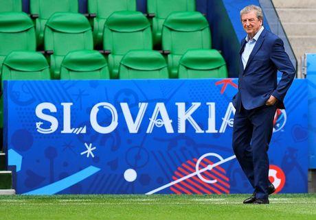 HLV Hodgson se thay 6 vi tri o tran gap Slovakia - Anh 2