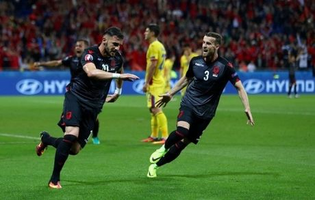 Highlight: DT Romania 0–1 DT Albania (Bang A, Euro 2016) - Anh 1