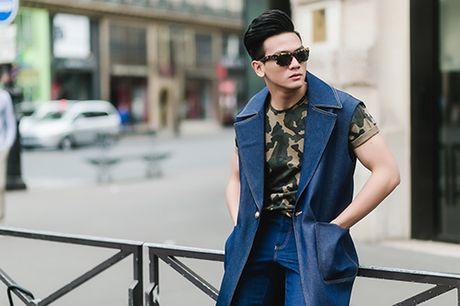 """""""Ban trai tin don"""" cua Do Manh Cuong lich lam dao pho Paris - Anh 1"""