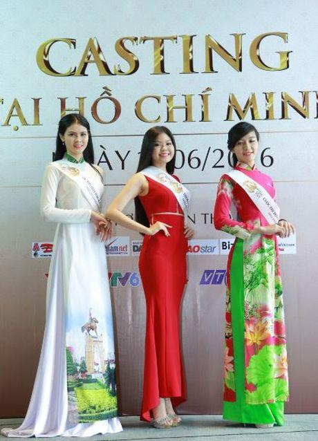 Nguoi dep mien Nam khoe sac tai casting Hoa hau Ban sac Viet toan cau - Anh 13