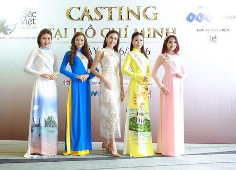Nguoi dep mien Nam khoe sac tai casting Hoa hau Ban sac Viet toan cau - Anh 14