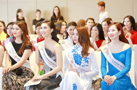 Nguoi dep mien Nam khoe sac tai casting Hoa hau Ban sac Viet toan cau - Anh 15