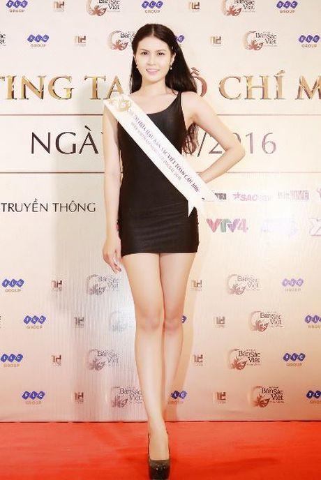 Nguoi dep mien Nam khoe sac tai casting Hoa hau Ban sac Viet toan cau - Anh 16