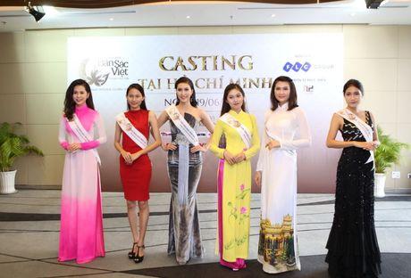 Nguoi dep mien Nam khoe sac tai casting Hoa hau Ban sac Viet toan cau - Anh 1