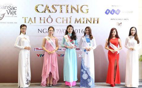 Nguoi dep mien Nam khoe sac tai casting Hoa hau Ban sac Viet toan cau - Anh 2