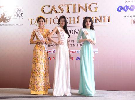Nguoi dep mien Nam khoe sac tai casting Hoa hau Ban sac Viet toan cau - Anh 3