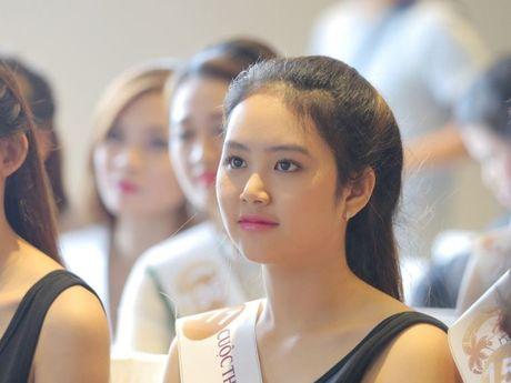 Nguoi dep mien Nam khoe sac tai casting Hoa hau Ban sac Viet toan cau - Anh 5