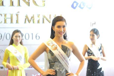Nguoi dep mien Nam khoe sac tai casting Hoa hau Ban sac Viet toan cau - Anh 6
