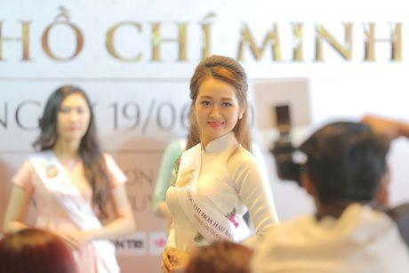 Nguoi dep mien Nam khoe sac tai casting Hoa hau Ban sac Viet toan cau - Anh 7