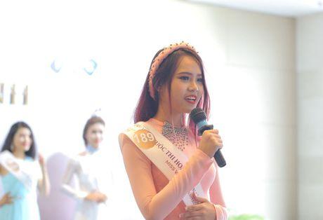 Nguoi dep mien Nam khoe sac tai casting Hoa hau Ban sac Viet toan cau - Anh 8