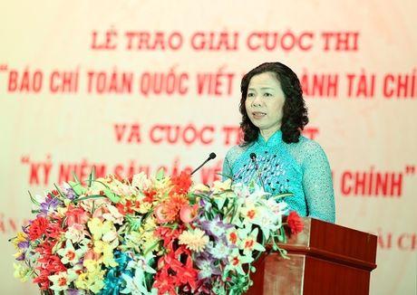 Thu truong Vu Thi Mai: Bao chi la kenh thong tin huu hieu gop phan hoan thien chinh sach - Anh 1