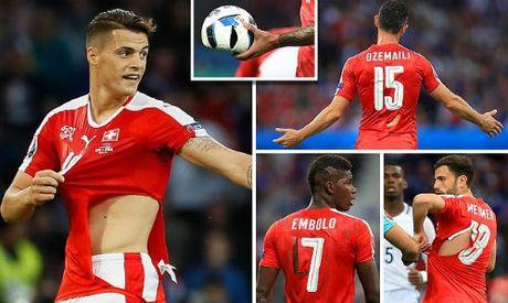 """Anh dep Euro 20/6: Pogba chuc mung """"Ngay cua bo"""" - Anh 8"""