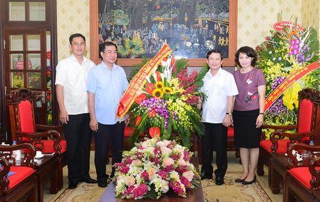 Vien truong VKSNDTC chuc mung cac co quan bao chi nhan Ngay Bao chi cach mang Viet Nam - Anh 1
