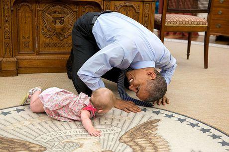 20 buc hinh Tong thong Obama muon xem lai nhieu lan - Anh 1