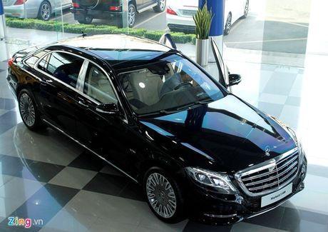 Mercedes Maybach S600 tang gia hon 4 ty dong sau 1/7 - Anh 1
