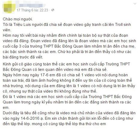 Thuc hu clip hoc tro rua chan cho co giao - Anh 2