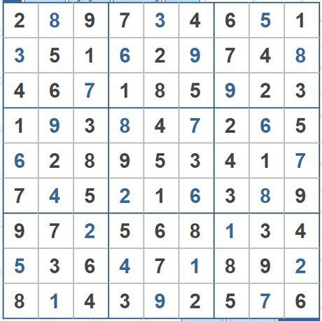 Moi cac ban thu suc voi o so Sudoku 3446 muc do Kho - Anh 2