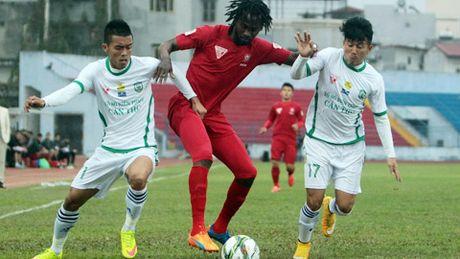 Truc tiep XSKT Can Tho vs Hai Phong vong 23 V.League 2016 - Anh 1