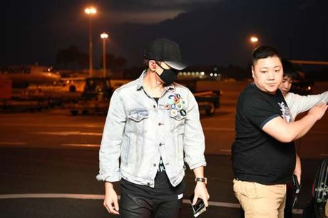 "Bi Rain nhu ""Ninja"" den TPHCM tham gia chung ket HHVN 2016 - Anh 3"