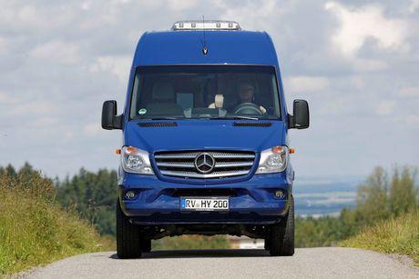 """Ngoi nha di dong"" xuyen luc dia Mercedes-Benz Sprinter - Anh 2"