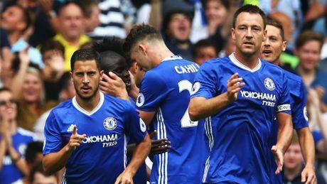 Chelsea dai thang Burnley, Conte no nu cuoi - Anh 1
